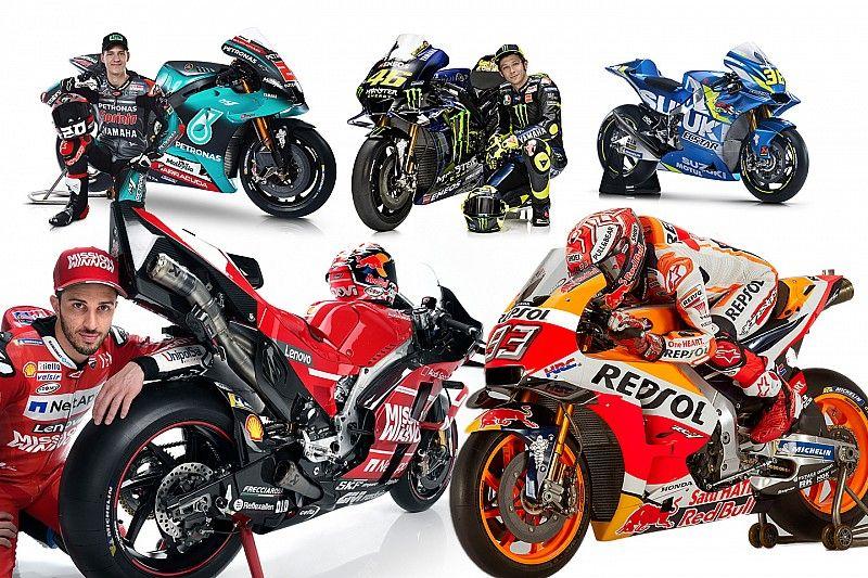 Todas las motos de MotoGP 2019