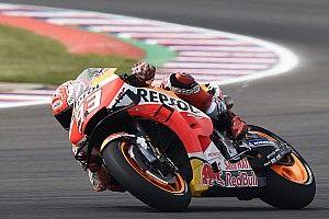 MotoGP, Austin, Libere 1: Marquez di un soffio su Vinales, Dovi quarto davanti a Rossi