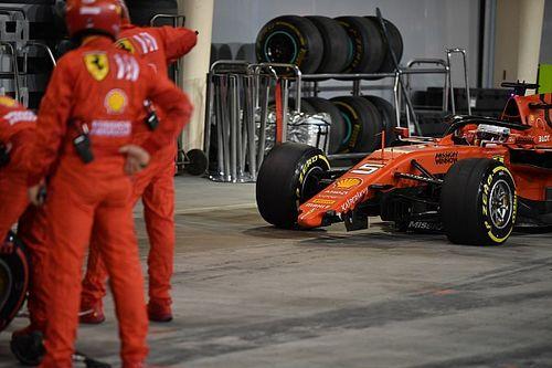 """Vettel: """"L'ala si è staccata per le vibrazioni causate dalle gomme dopo il testacoda"""""""