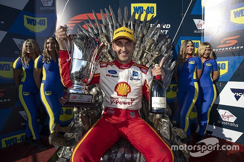 Phillip Island Supercars: Coulthard leads Penske clean-sweep