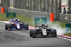 Haas sufre con los neumáticos