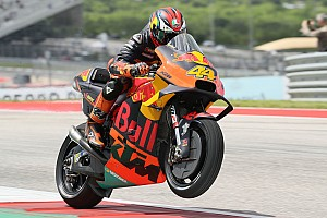 "Espargaro ""super-excited"" after best dry KTM result"