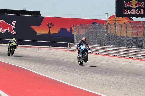 El semáforo del Gran Premio de las Américas de MotoGP