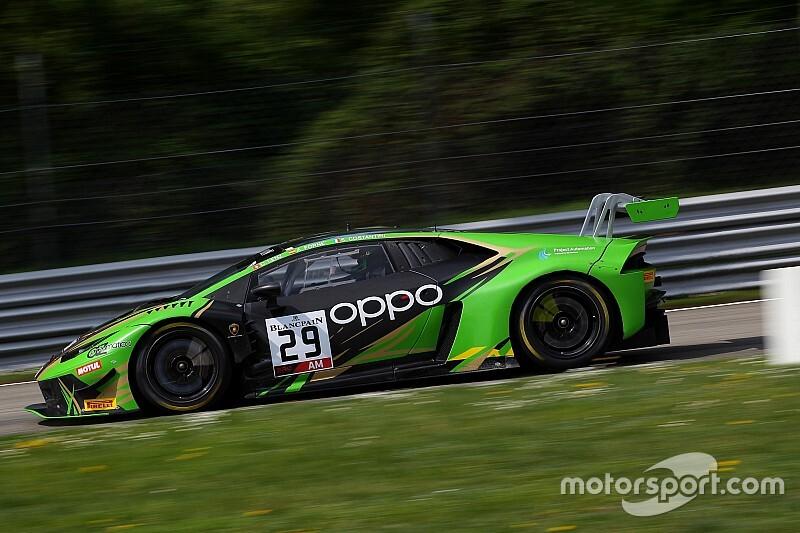 GT World: Costantini-Lenz-Ramos sulla Lamborghini di Raton Racing