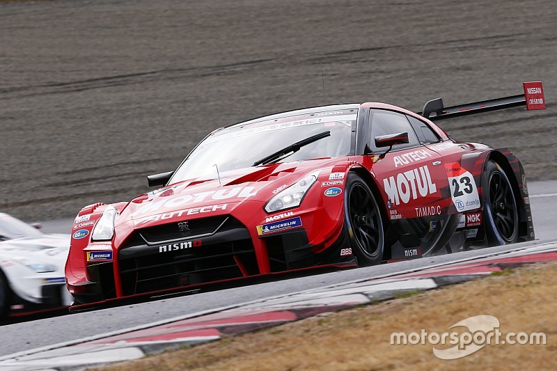 Okayama Super GT: Nissan locks out front row for opener
