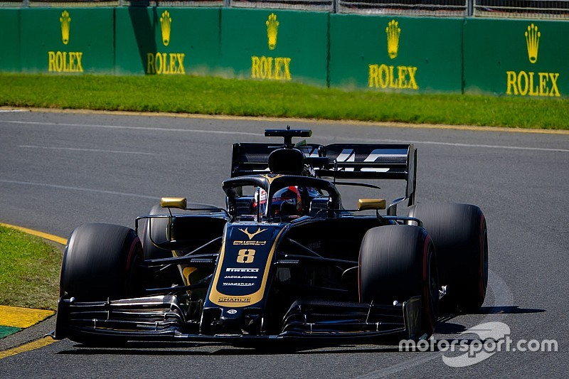 Grosjean regresará al set-up aerodinámico que usó en Melbourne