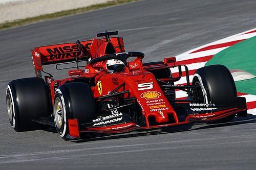 Tes F1 Barcelona: Vettel tercepat di sesi pagi