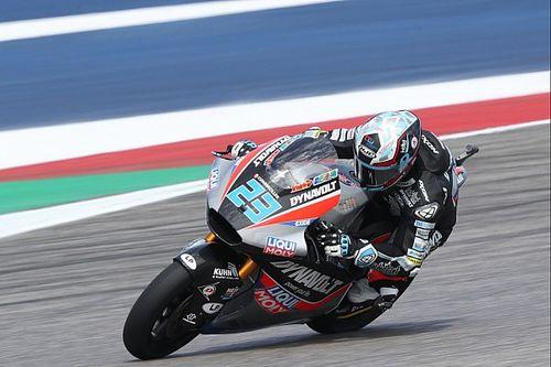 Moto2, Austin: seconda pole di Schrotter, Pasini il migliore degli italiani