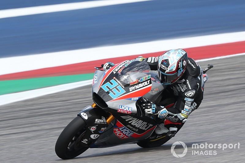 Moto2 Amerika: Schrotter pole, Dimas tersungkur lagi