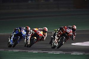 Dovizioso a dépassé Márquez sous drapeau jaune au Qatar