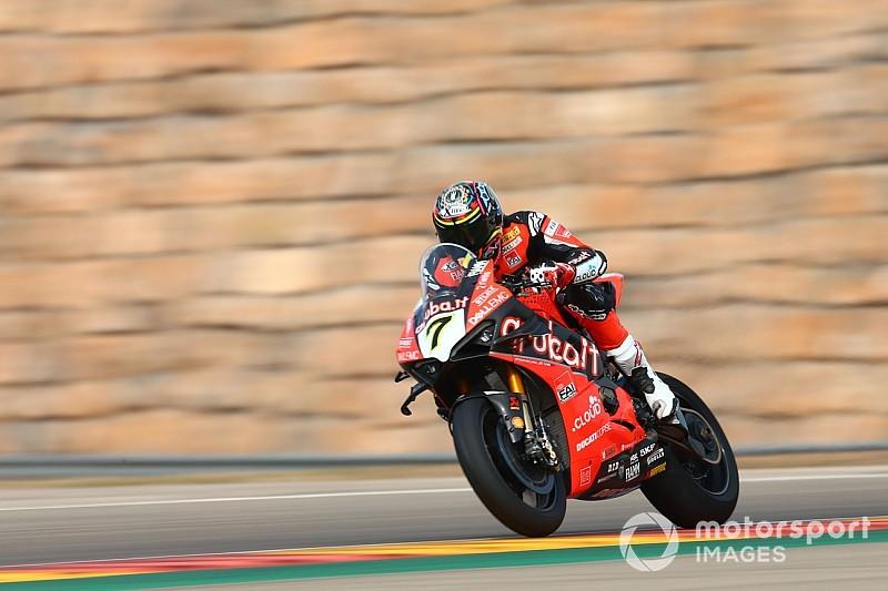 Fotogallery SBK: dominio Ducati nella prima giornata di prove ad Aragon