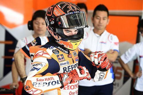 Terhambat kondisi fisik, Marquez tak maksimal