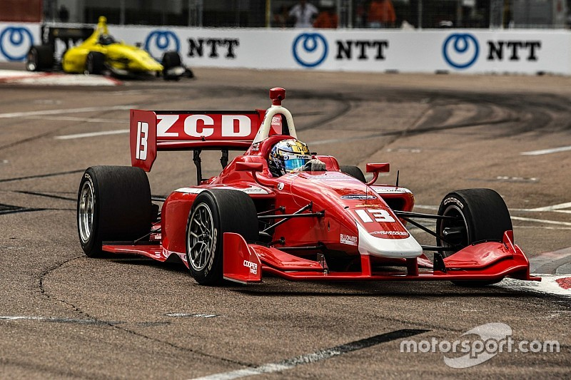 St. Petersburg Road To Indy: Claman De Melo, VeeKay win Lights