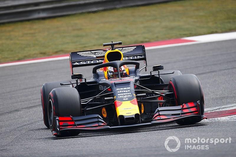 """Verstappen, Red Bull'un güçlü performansıyla """"rahatladı"""""""