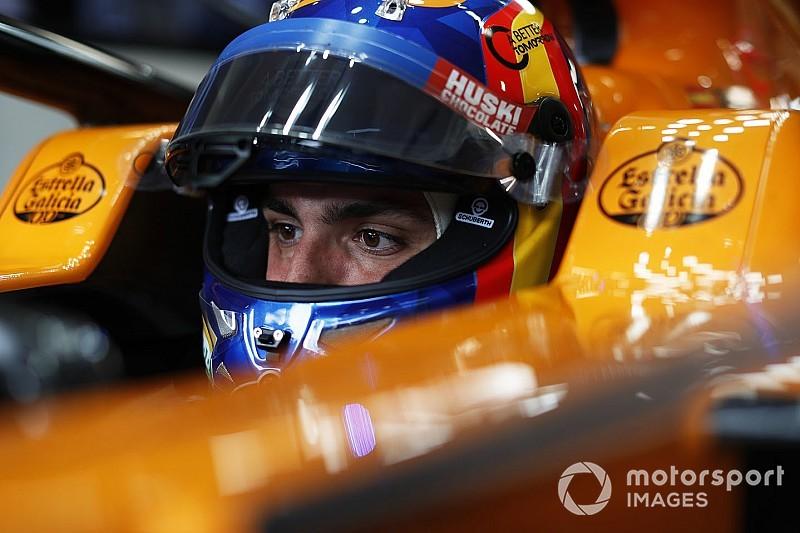 """Sainz: Ferrari e Red Bull podem ser """"bem mais rápidas"""" que McLaren"""