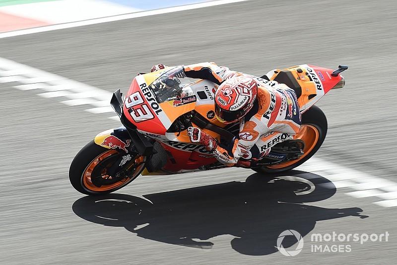 """Márquez: """"Dovizioso va rápido en un circuito que el año pasado le costaba"""""""