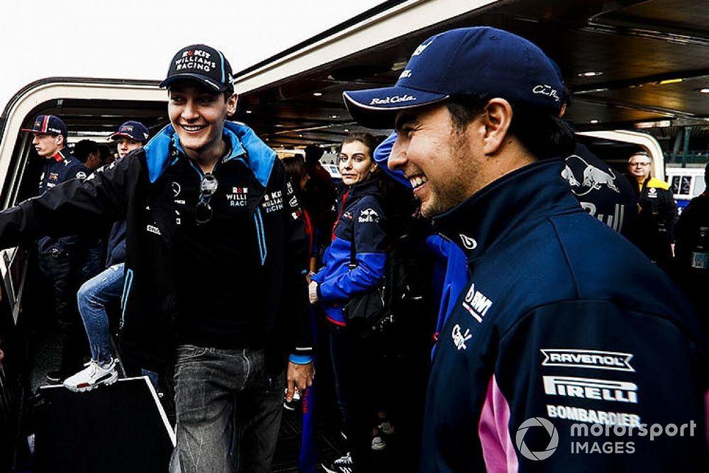 Расселл: Перес распускает слухи о Williams, чтобы попасть в Red Bull