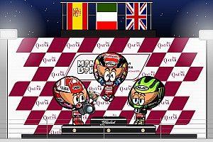 Vídeo: el GP de Qatar 2019 de MotoGP, por MiniBikers