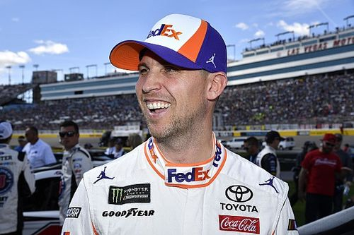 "Denny Hamlin is ""all in on Vegas,"" not focused on championship"