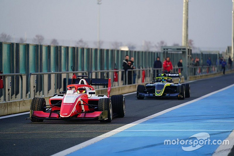 FIA F3 holds shakedown for new 2019 car