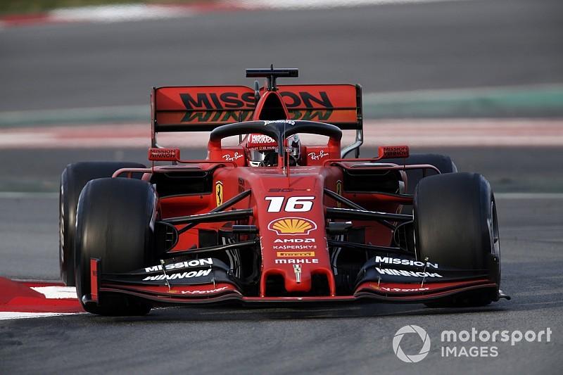 Leclerc continua domínio da Ferrari na manhã do segundo dia