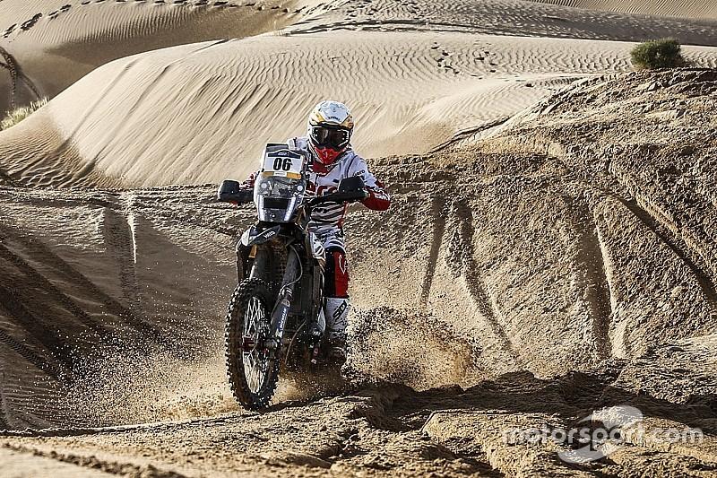Merzouga Rally: Hero riders inside top three after Wednesday