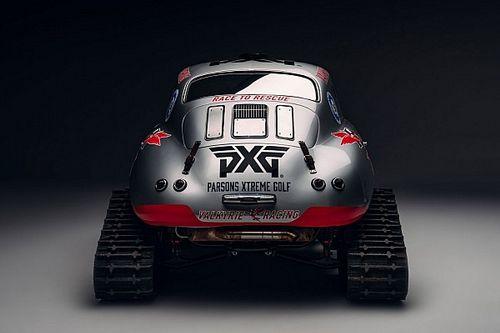 Una Porsche 356 si trasforma in un gatto delle nevi per beneficienza