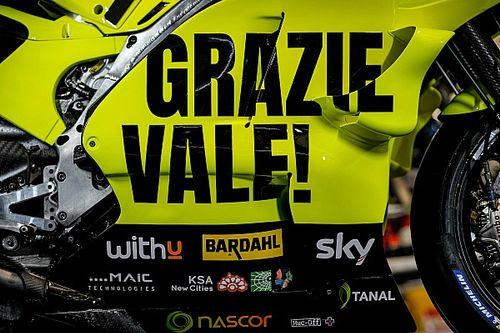 Fotos: Sky VR46 corre con una decoración homenaje a Rossi en Misano
