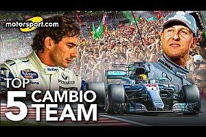 F1 | Top 5: i cambi di casacca più importanti di sempre
