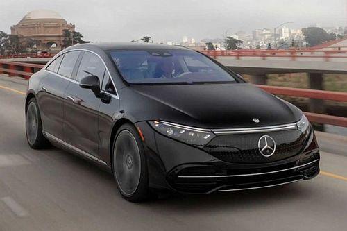 A Mercedes-Benz EQS 580 4MATIC kínálja a legnagyobb luxust az elektromos autók piacán