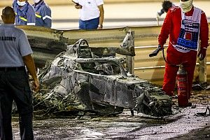 """Hamilton: """"Horrifying"""" Grosjean accident reminder of F1's danger"""
