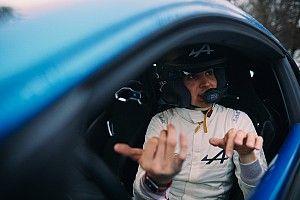 """ラリー・モンテカルロにゲスト参加のオコン、WRCドライバーの""""度胸""""に脱帽"""