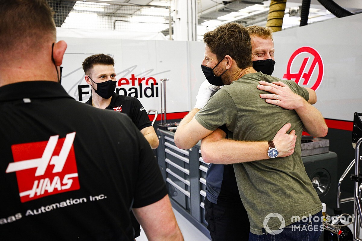 Ez gyors volt: Grosjean már vissza is ült a Haasba