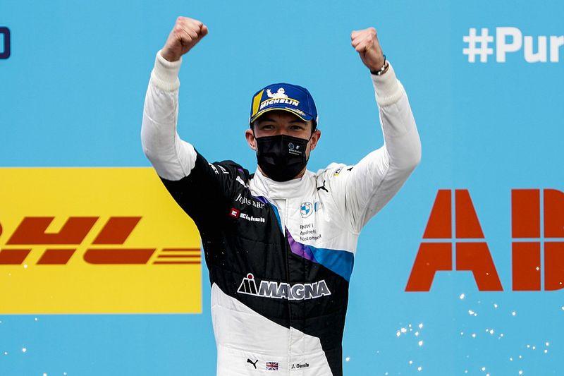 Dennis gana la segunda carrera de Fórmula E en Valencia