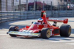Алези на Ferrari стартовал в историческом Гран При Монако. Само собой, ничего хорошего из этого не вышло