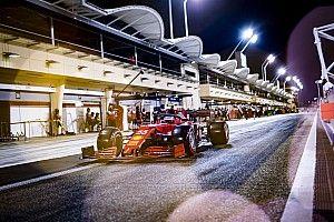 Las espectaculares fotos del final de los test de la F1 2021 en Bahrein