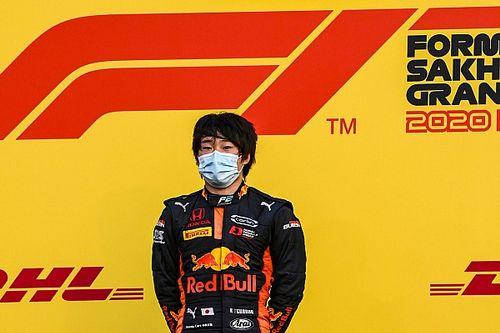 F2最終戦サクヒールのレース1、最終順位が確定。角田優勝でランキング4位以上確定!