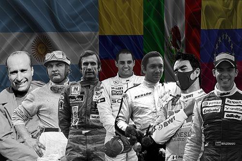 Los pilotos latinoamericanos que ganaron en Fórmula 1