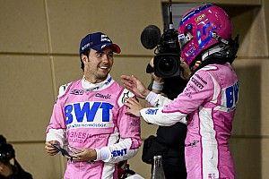 Sergio Perez Paling Menanjak di F1 2020