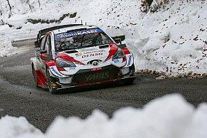 Toyota probó los Pirelli de cara al Rally Montecarlo 2021
