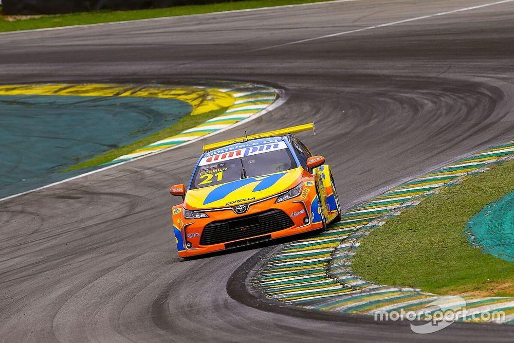 Camilo teve problemas no câmbio na classificação da Stock Car