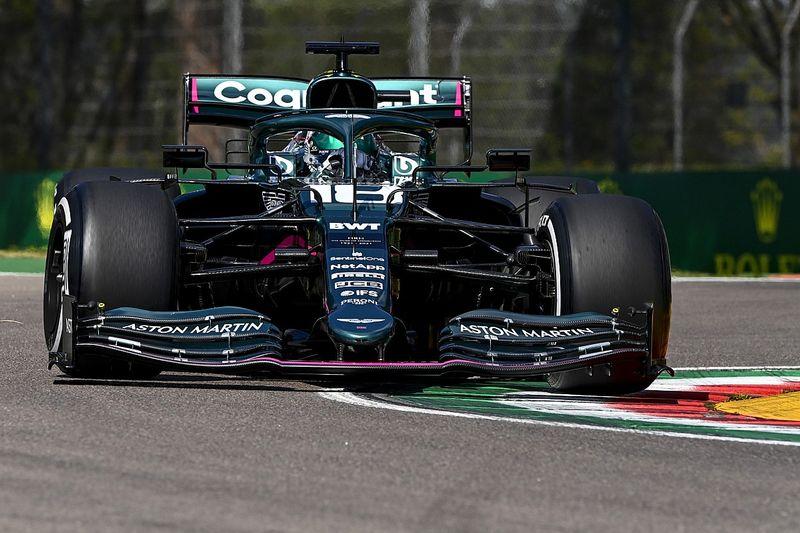 Aston pushing FIA to cut gap between high, low-rake F1 cars