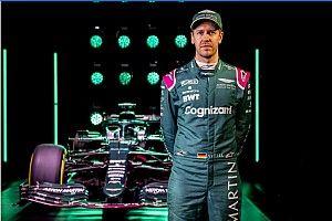 Los nombres de mujer de los coches de Vettel en Fórmula 1