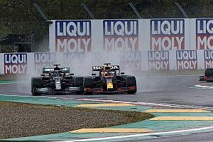 Las mejores fotos del caótico GP de Emilia Romagna de F1