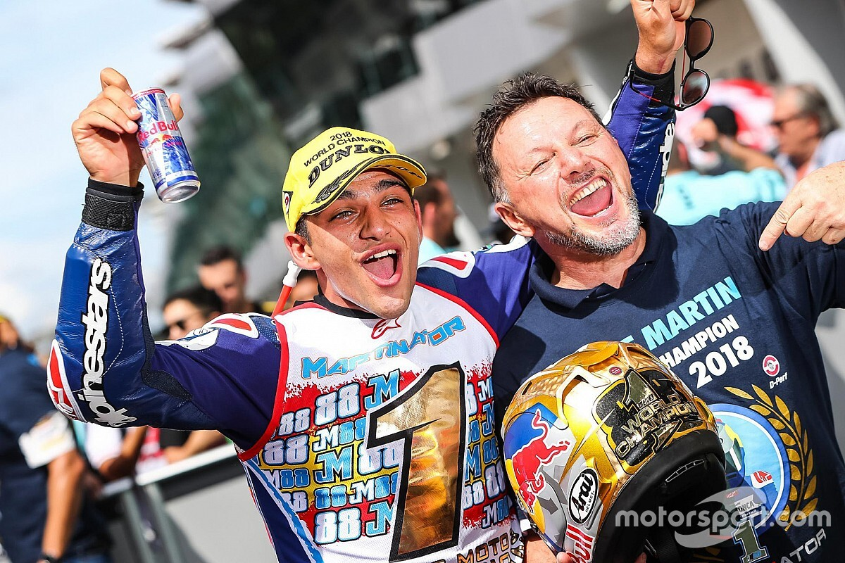 Titel Moto3 2018, Momen Terindah Martin-Fausto Gresini