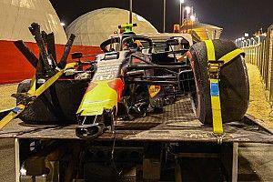 Элбон разбивает машину в последнем повороте: фото, видео, комментарии пилота и босса Red Bull