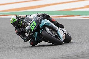 Valencia MotoGP: Morbidelli tops FP3, Rins and Quartararo miss Q2
