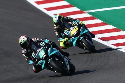 """Rossi: """"He visto sufrir mucho a Morbidelli; está luchando contra el tiempo"""""""
