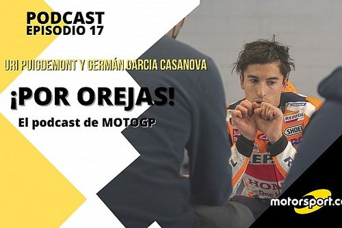 Podcast 'Por Orejas': frenazo inesperado al regreso de Márquez