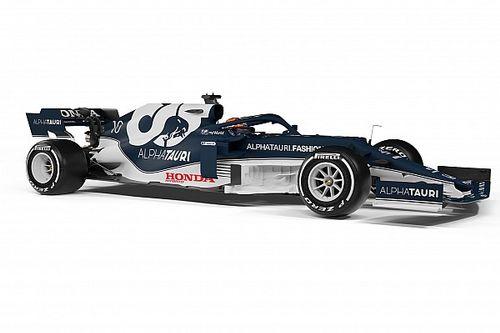 Fotos: así es el AT02, el coche de AlphaTauri para la F1 2021